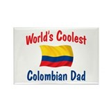 Coolest Colombian Dad Rectangle Magnet