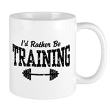 I'd Rather Be Training Small Mug