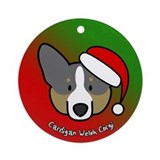 Cartoon BT Cardigan Welsh Corgi Christmas Ornament