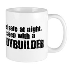 Feel Safe with a Bodybuilder Small Mug