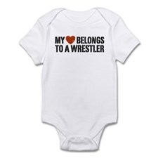 My Heart Belongs to a Wrestler Onesie