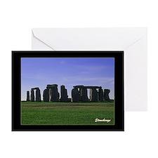 Stonehenge 100 - Greeting Card