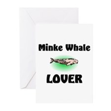 Minke Whale Lover Greeting Cards (Pk of 10)