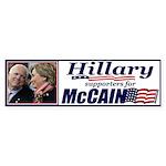 Hillary4McCain Bumper Sticker (10 pk)