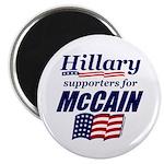 Hillary4McCain Magnet