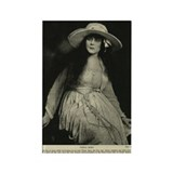 Theda Bara Liberty Bond Drive Rectangle Magnet