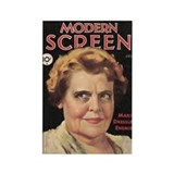 Marie Dressler 1932 Rectangle Magnet