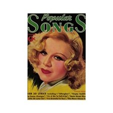 Ginger Rogers 1936 Magazine Rectangle Magnet