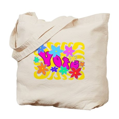 Groovy Vote Tote Bag