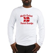 Coolest Danish Grandpa Long Sleeve T-Shirt