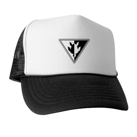 Triangle Turtle Trucker Hat