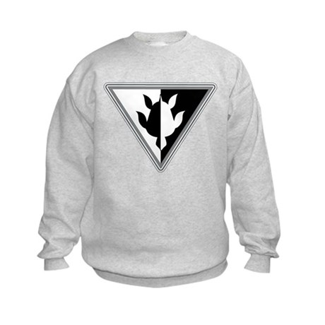 Triangle Turtle Kids Sweatshirt