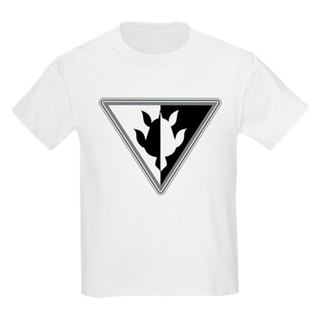 Triangle Turtle Kids Light T-Shirt