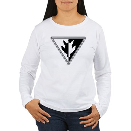Triangle Turtle Women's Long Sleeve T-Shirt