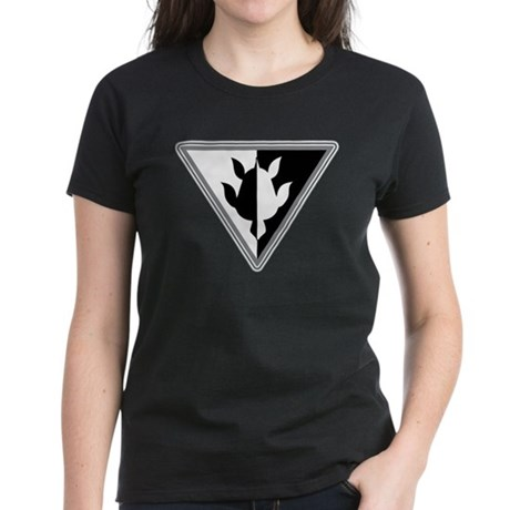 Triangle Turtle Women's Dark T-Shirt