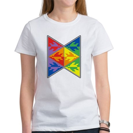 Rainbow Triangle Turtles Women's T-Shirt