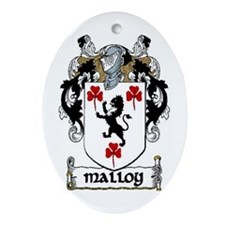 Malloy Coat of Arms Keepsake Ornament