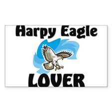 Harpy Eagle Lover Rectangle Decal
