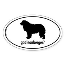 Got Leonberger? Oval Decal