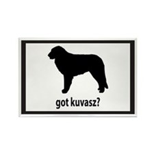 Got Kuvasz? Rectangle Magnet