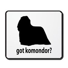 Got Komondor? Mousepad