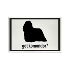 Got Komondor? Rectangle Magnet