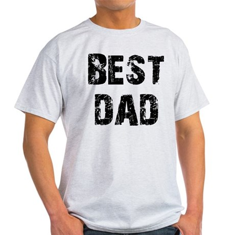 Father's Day Best Dad Light T-Shirt