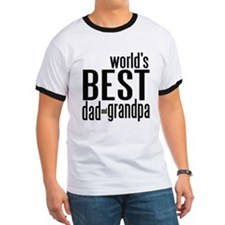world's BEST dad & grandpa T