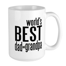 world's BEST dad & grandpa Coffee Mug