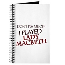 I Played Lady Macbeth Journal