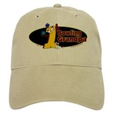 Yellow number 1 bowling grand Baseball Cap