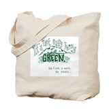 Easy Green Tote Bag