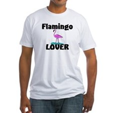 Flamingo Lover Fitted T-Shirt