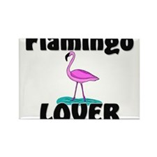 Flamingo Lover Rectangle Magnet (10 pack)