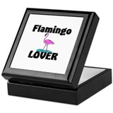 Flamingo Lover Keepsake Box