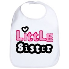 Little Sister in Pink Bib
