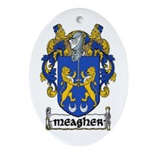 Meagher Coat of Arms Keepsake Ornament