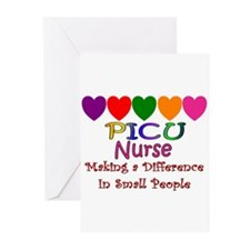 PICU Nurse Greeting Cards (Pk of 10)