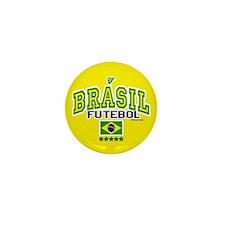 Brasil Futebol/Brazil Soccer/Football Mini Button