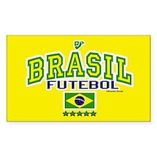 Brasil Futebol/Brazil Soccer/Football Decal