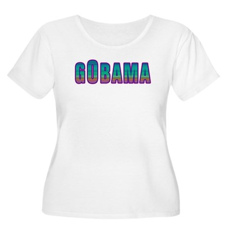 GObama Women's Plus Size Scoop Neck T-Shirt