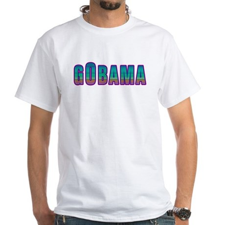 GObama White T-Shirt