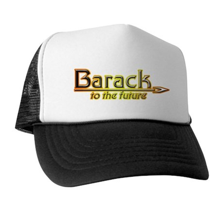 Barack to the Future Trucker Hat