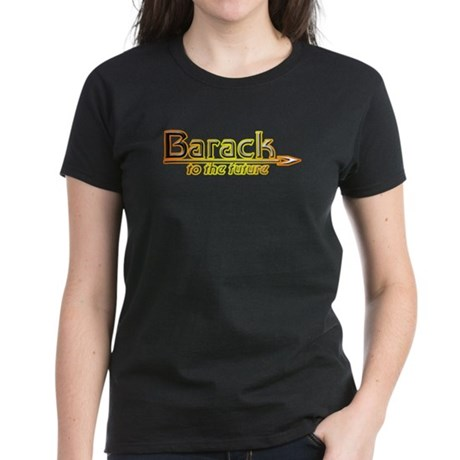 Barack to the Future Women's Dark T-Shirt