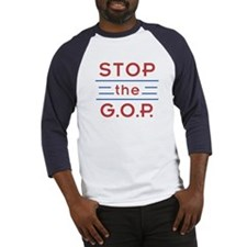 Stop the GOP Baseball Jersey