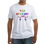 Queer Cheer Fitted T-Shirt
