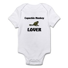 Capuchin Monkey Lover Infant Bodysuit