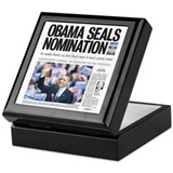Obama Seals Nomination Keepsake Box
