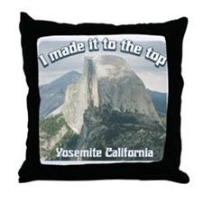 I made it Yosemite Throw Pillow