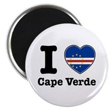 "I love Cape Verde 2.25"" Magnet (100 pack)"